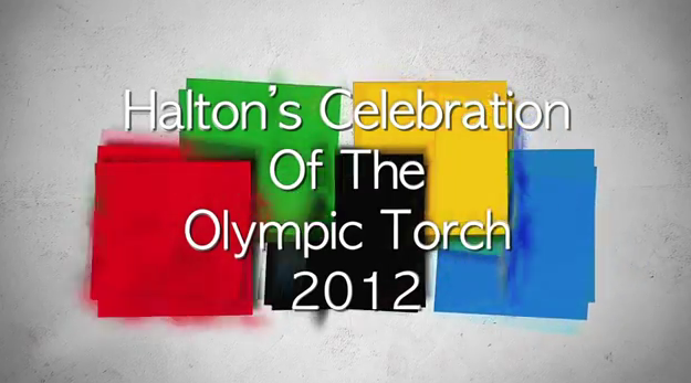 Halton's Celebration of the Olympic Torch 2012