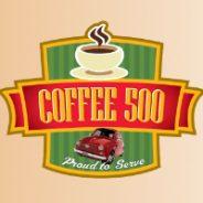 Coffee 500 App Launch