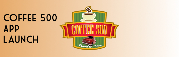 Coffee 500 App Launch