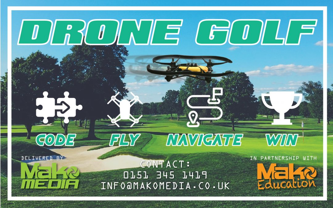 Drone Golf – Team Building Exercise for Business