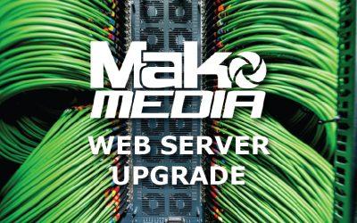 Website Server Update