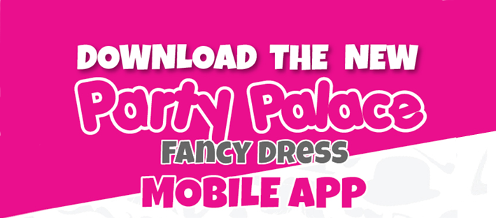 NEW MOBILE APP LAUNCH: Party Palace Fancy Dress
